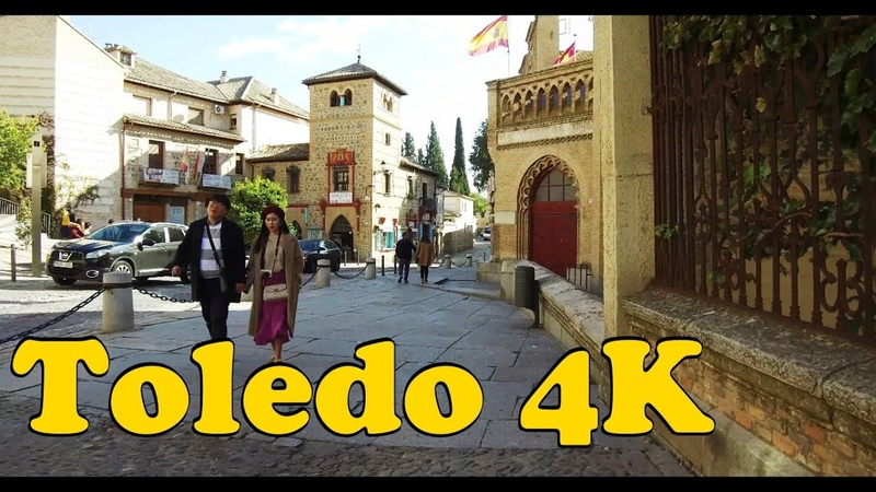 Walk around Toledo Spain 4K 2019