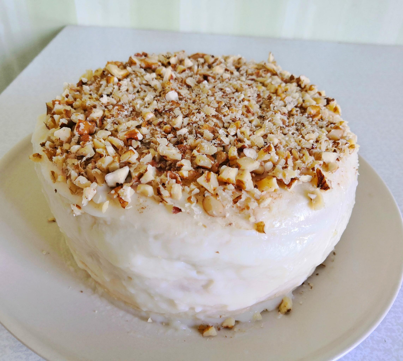Творожный торт на сковороде с заварным кремом WeSFDmy6t50