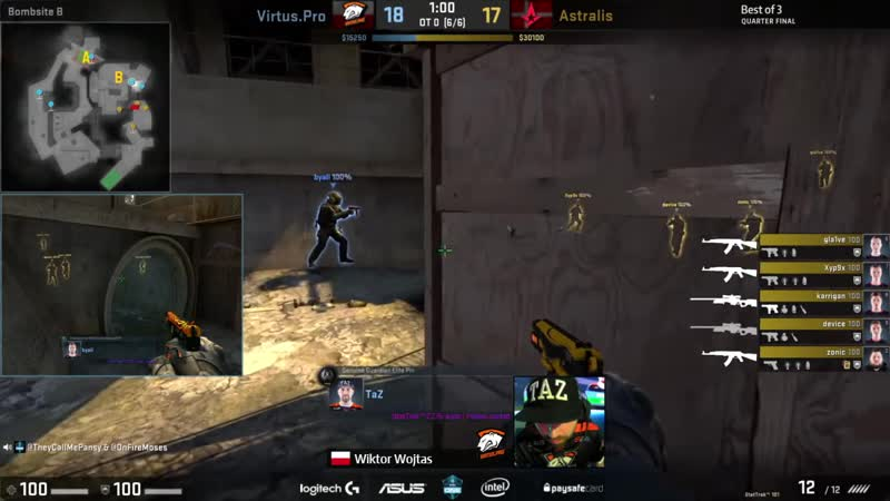 SynTV CS GO More CS GO BEST PRO CZ 75 PLAYS Crazy Plays