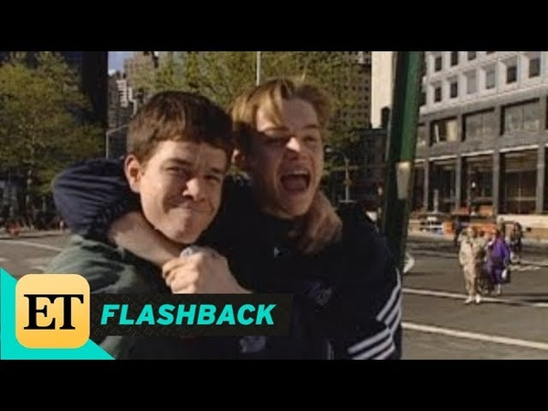 FLASHBACK Mark Wahlberg and Leonardo DiCaprio Are BFFs on the Set of Basketball Diaries in '94