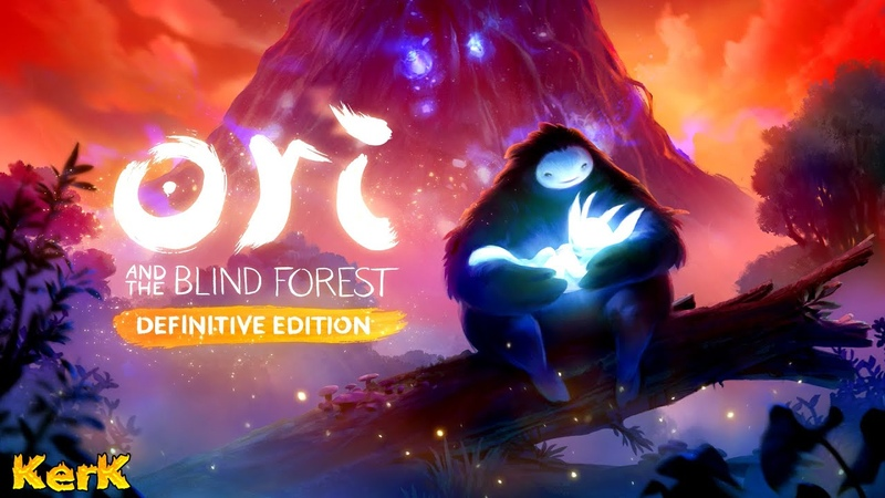 Ori and the Blind Forest прохождение 4 ♼ KerK и Ори спасают лес ♼ Ори и слепой лес стрим КерК