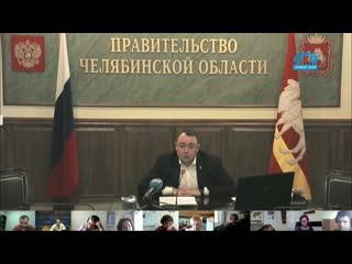 Брифинг первого заместителя губернатора Виктора Мамина по ситуации с коронавирусом 12 мая