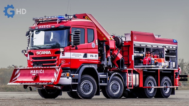The World's Most Advanced Fire Trucks you have to see ▶ Tatra TITAN Tunnel fire truck