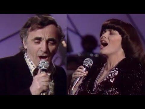 Charles Aznavour et Mireille Mathieu Une vie d'amour 1981
