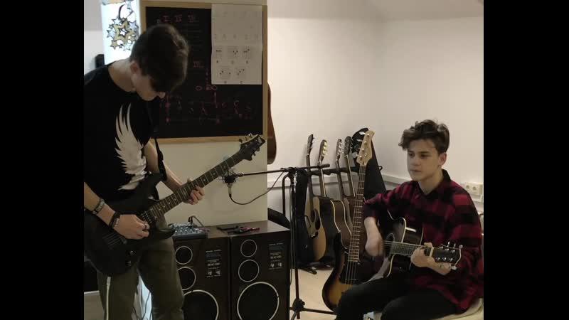 Занятия в студии с Денисом Макеевым