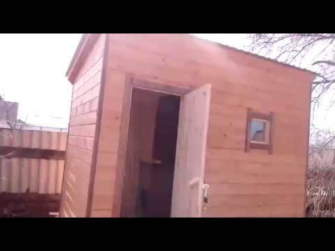 Видео-отзыв клиента. Каркая баня 2х3 от «Планеты Дерева»
