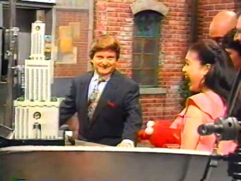 Joe Ronald Grump Pesci Spits on Elmo Behind The Scenes at Sesame Street 1994