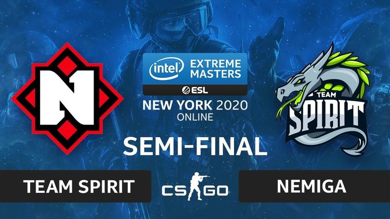 CSGO - Team Spirit vs. Nemiga [Nuke] Map 2 - IEM New York 2020 - Semi-final - CIS