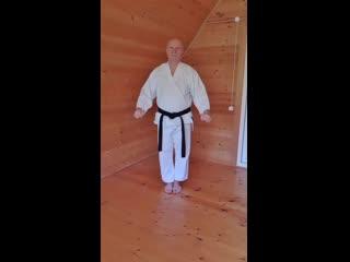 Отработка комбинированной ударной техники  в движении.mp4