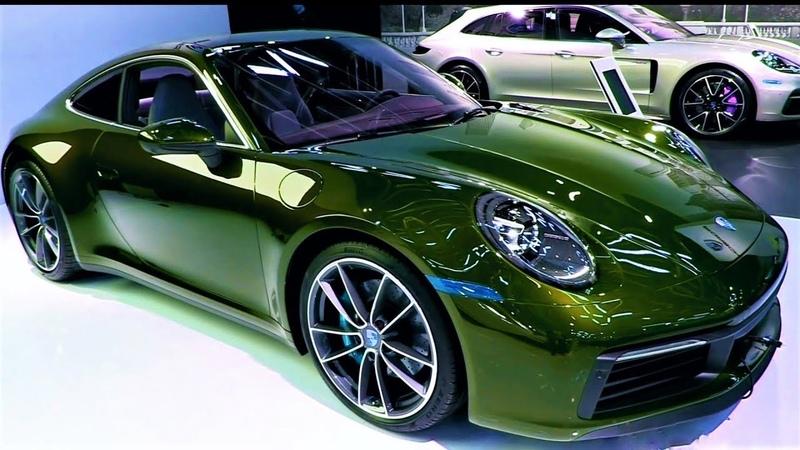 NEW 2020 Porsche 911 Carrera 4S Super Sport INTERIOR and EXTERIOR Full HD 60fps 600h