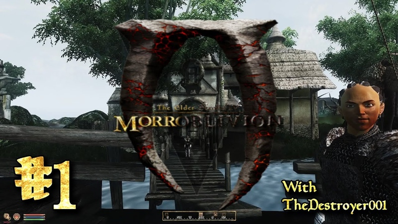 The Elder Scrolls Morroblivion 1 Off the Boat and onto Adventure