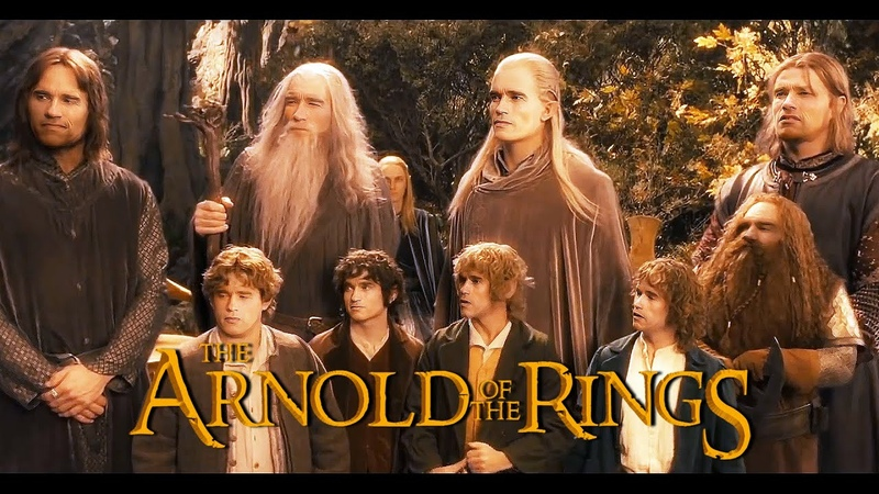 DEEPFAKE THE ARNOLD OF THE RINGS