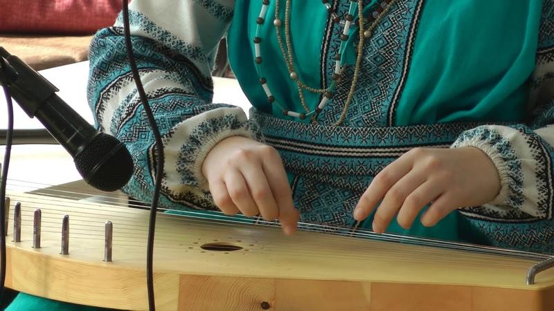 Елена Буракова и 12 ти струнные гусли самогуды