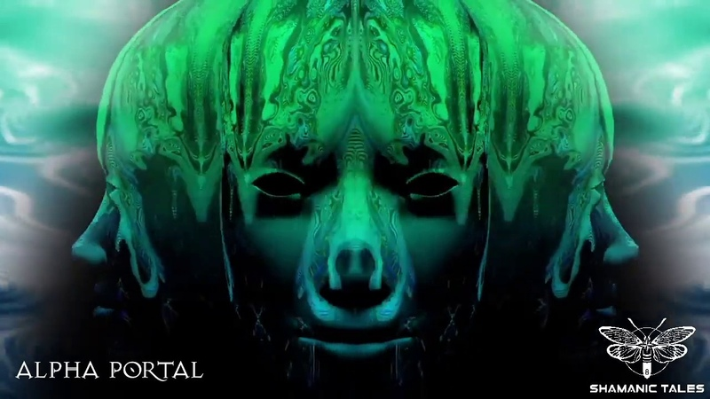 Alpha Portal set @ Shamanic Tales live stream (visuals Global Illumination)
