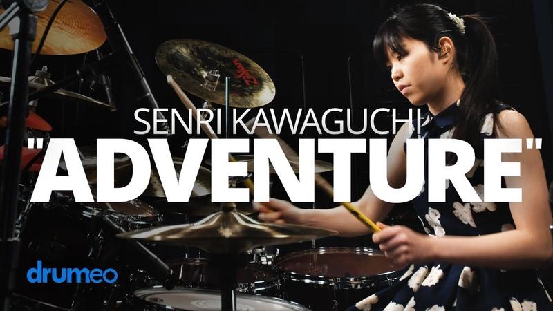 "Senri Kawaguchi Adventure"" Drum Performance"