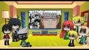 Реакция персонажей Наруто на видео Пейн против Наруто l 8 Часть Хината спасает Наруто!