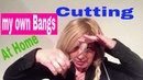 Cutting My Own Bangs at home 2020 | How To Cut Hair fringe | haircut | How To Cut Your Own Bangs