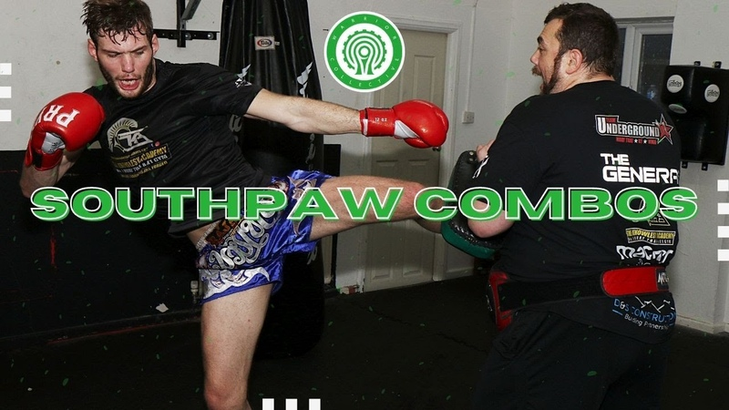 3 Killer Muay Thai Combinations for Southpaws with Christian Knowles