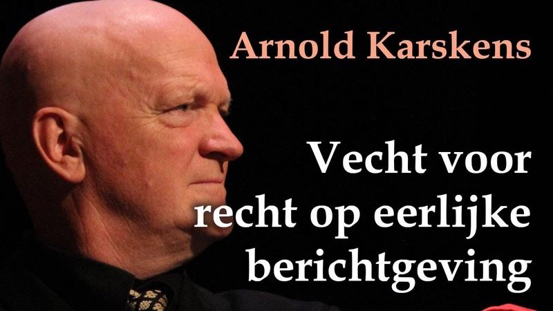 Arnold Karskens tegen de NOS Cultuur onder Vuur Congres 2019