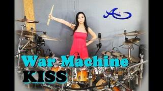 KISS - War Machine drum cover by Ami Kim (#51)