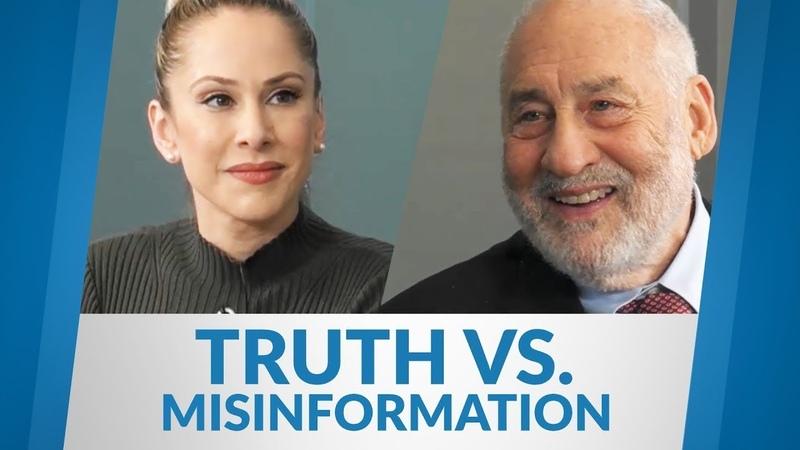 Joseph Stiglitz How to distinguish truth and misinformation | Ana Kasparian | yourMSC