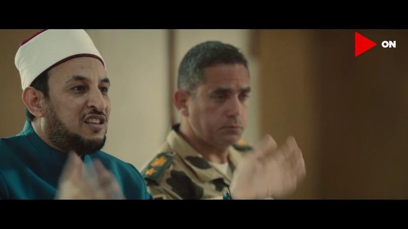 مشهد عظيم الشيخ رمضان عبدالمعز يشرح للج 16