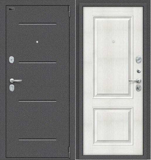 Porta S 104/К32 Антик Серебро/Bianco Veralinga