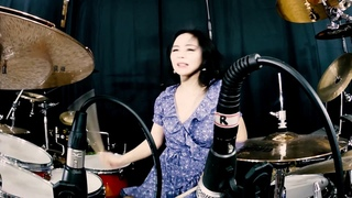 SKID ROW - Youth gone wild drum cover by Ami Kim (#107)