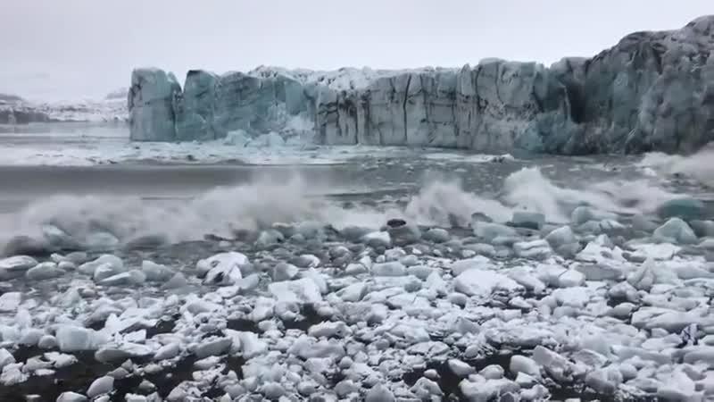 Беги пока не поздно Куски льда mp4