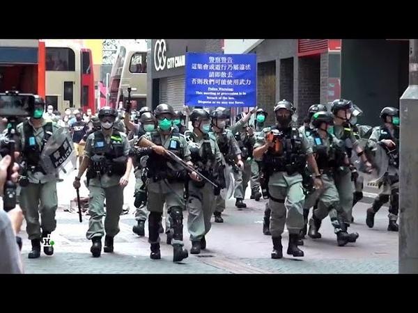 Биржи замерли в ужасе кризис в Гонконге поставил под удар экономический миропорядок