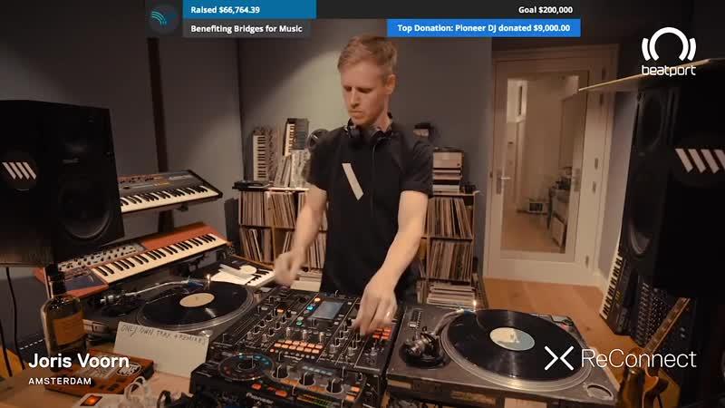 Joris Voorn Own Tracks and Remixes Vinyl DJ Set @ ReConnect ¦ Beatport Live