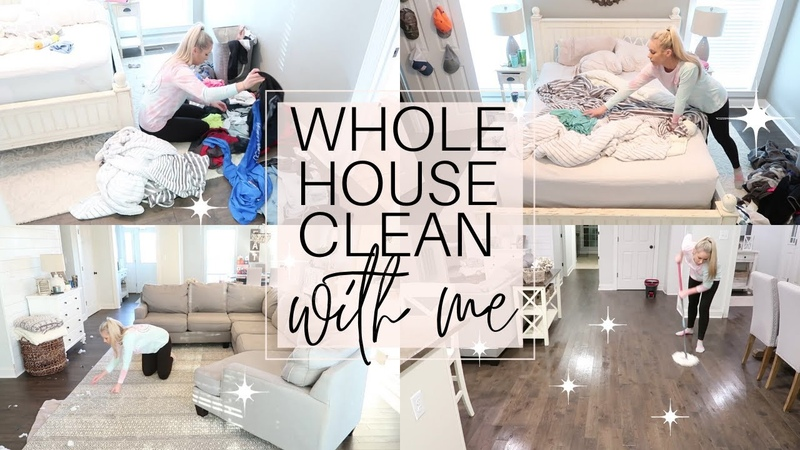 2020 Whole House Ultimate Clean With Me Cleaning Motivation House Cleaning