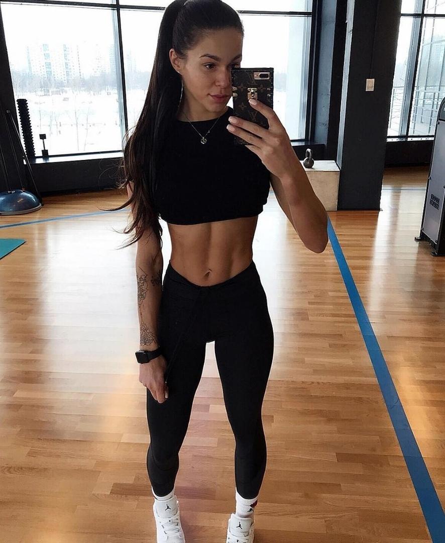 Вот это я понимаю красивое и спортивное тело