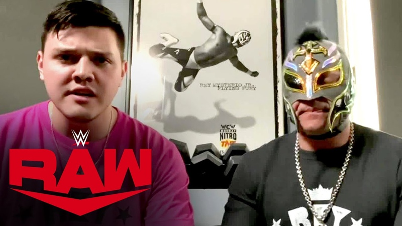 Rey Mysterio Dominick respond to Seth Rollins Raw June 1 2020
