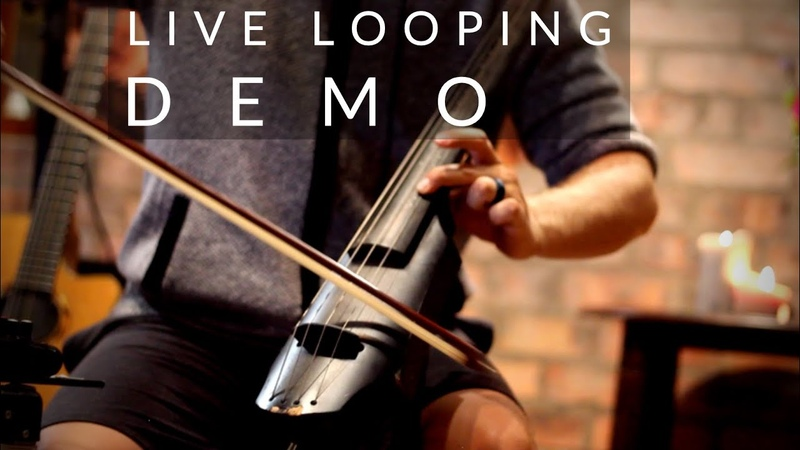 Boss RC 505 Step by Step Live Looping Demo Headphones Recommended