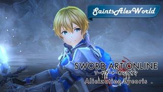 Sword Art Online: Alicization Lycoris [PC] Прохождение на русском #9 - Сражение с Юджио