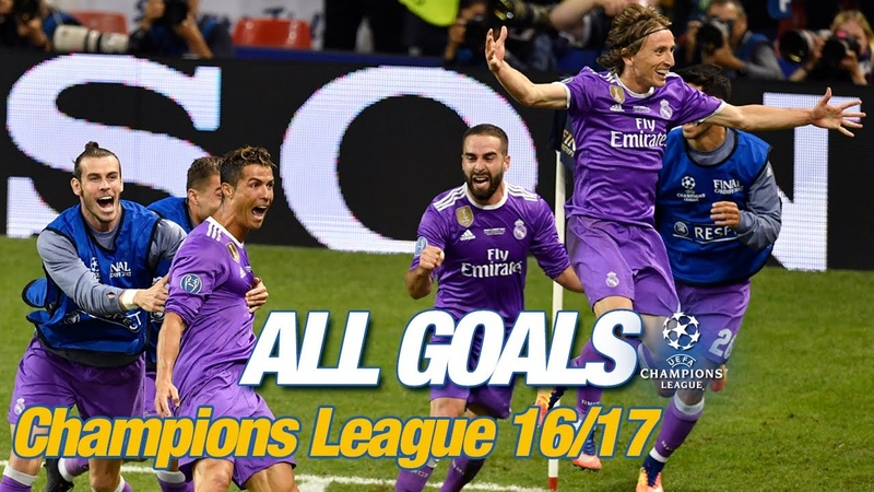 Every Champions League goal 2016 17 The BBC on fire two amazing Cristiano hat tricks