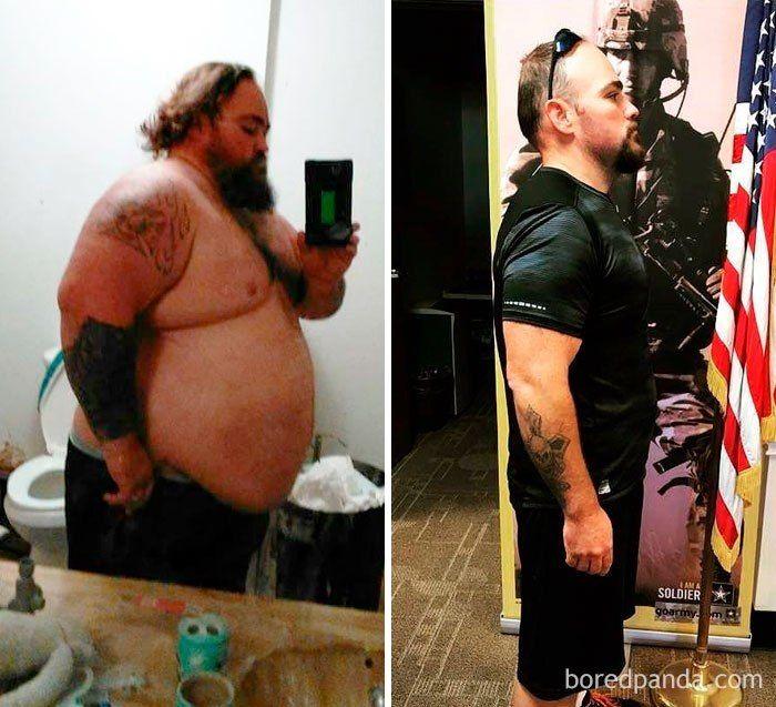 До и после отличный результат!