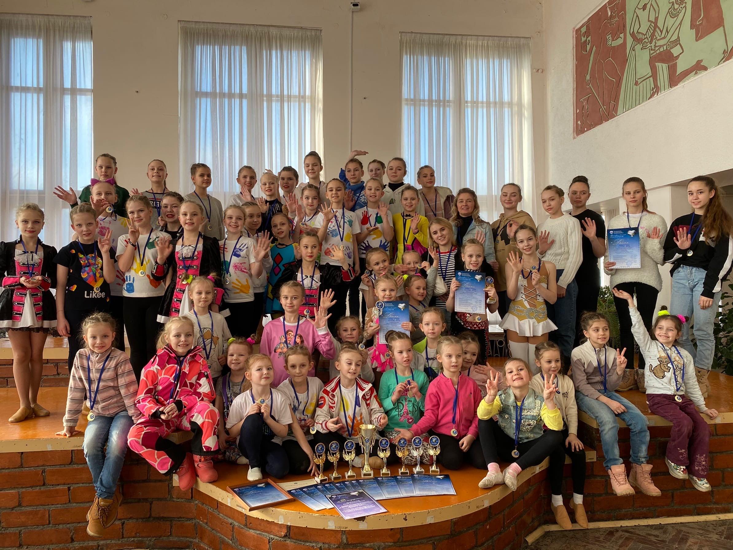 Кимрские мажоретки стали лучшими на международном конкурсе