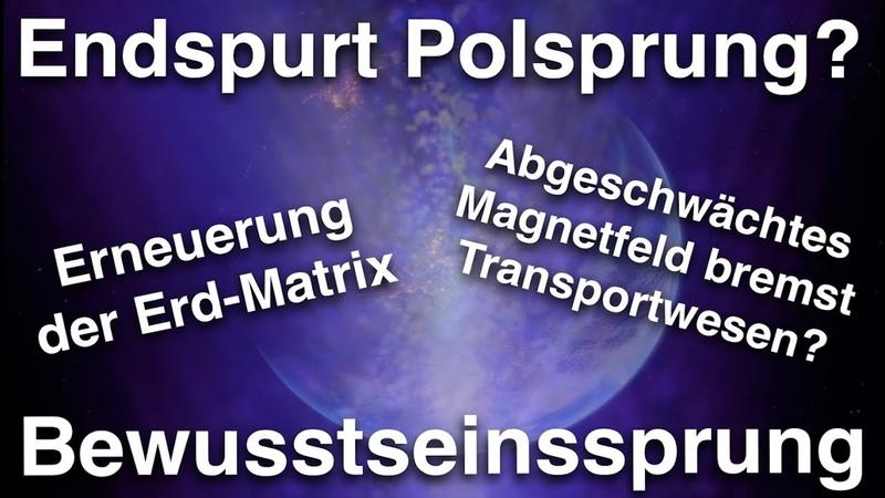 Polsprung und Abschwächung des Erd Magnetfeldes 💫 Aufbau der neuen Matrix ✨ Bewusstseinssprung 💫