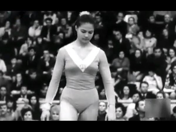 1974 Campeonatos gimnasia URSS - Olga Korbut Ludmilla Tourischeva Nikolai Andrianov Viktor Klimenko
