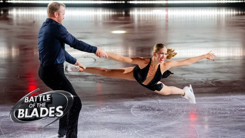 Kaitlyn Weaver and Bryan Bickell perform to 'Ball and Chain' Battle of the Blades S06E04
