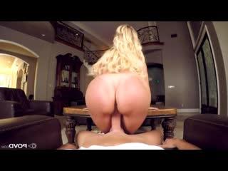 Brandi Love присаживается на хуй пасынка порно секс минет милфа por sex blowjob mom milf  blonde