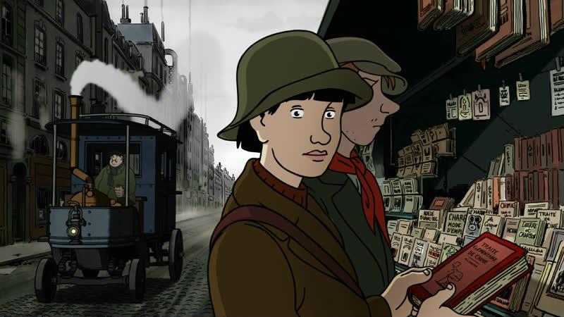 Аврил и поддельный мир 2015 Франция Кристиан Димар мультфильм стимпанк дизельпанк граф роман Жак Тарди