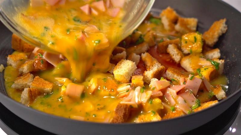 Вкусный и сытный завтрак ОМЛЕТ за 20 минут который вы захотите приготовить еще Всегда от Вкусно