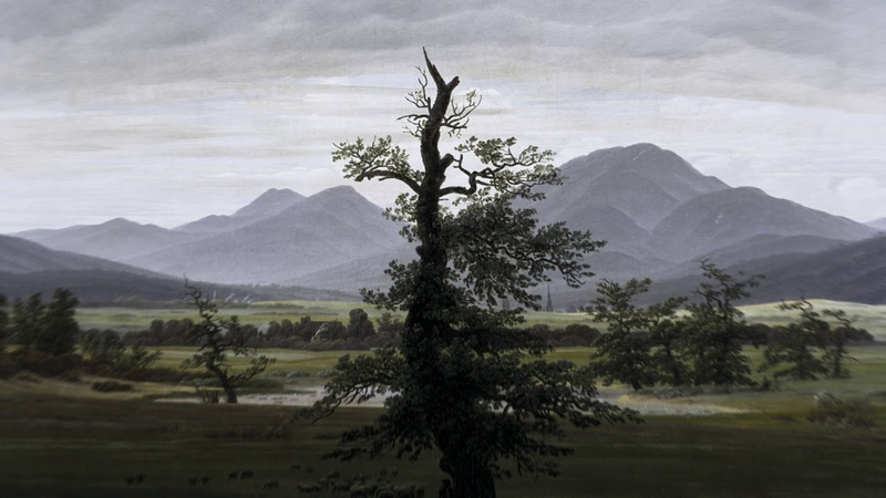 Gymnopedie No.1 By Erik Satie , 432Hz, With Rain.