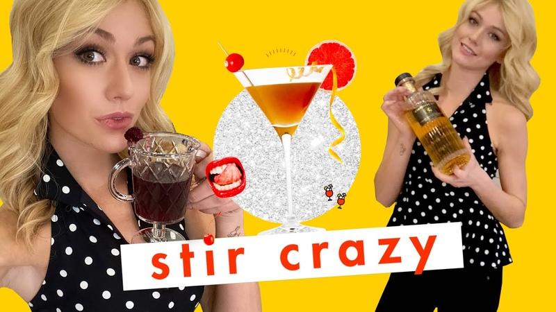 Spiraling Because Actress Katherine McNamara Drinks Whiskey and Wine TOGETHER 😱 Stir Crazy Cosmo