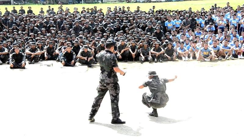 The Pekiti Tirsia Lakan Kali P Supt Serafin Fortuno Petalio II DSC Demo