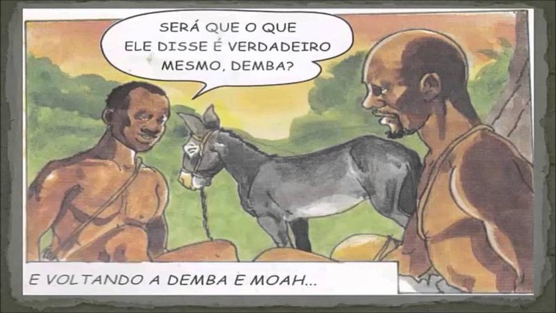 Consciência Negra Filme em quadrinhos animado Palmares A luta pela liberdade
