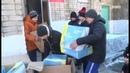 Коньки для хоккея и фигурного катания подарили детям в п Приморский и с Барабаш